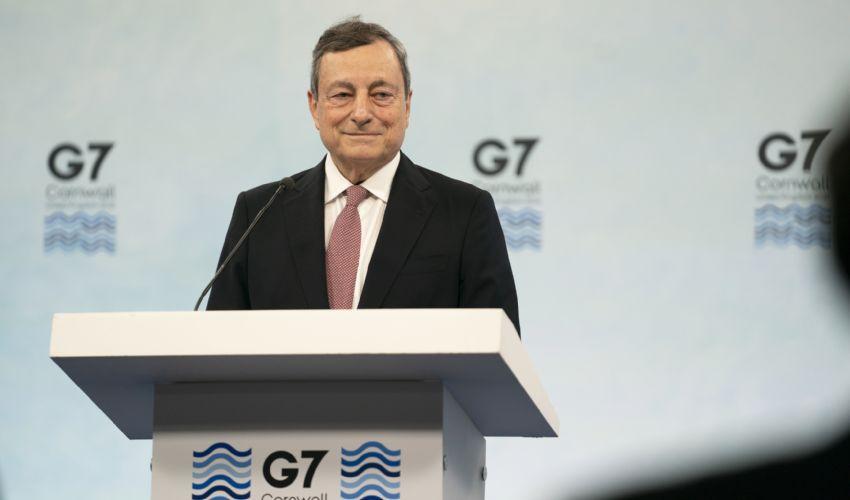 A Carbis Bay il pragmatismo di Mario Draghi che guarda al G20