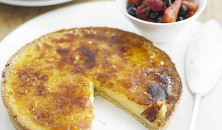Crostata al limone crema e pasta frolla, ricetta di Gordon Ramsay