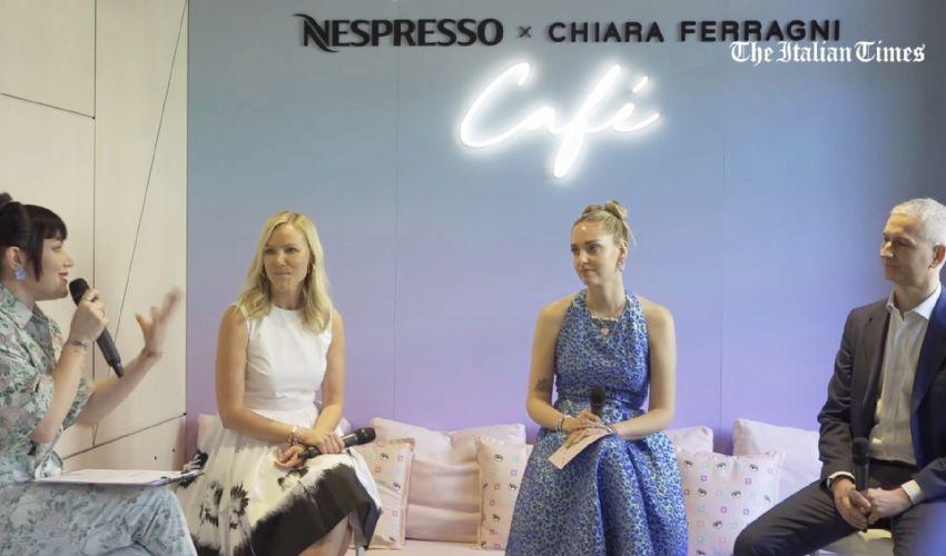 Apre il Nespresso X Chiara Ferragni Temporary Cafè: cosa c'è da sapere