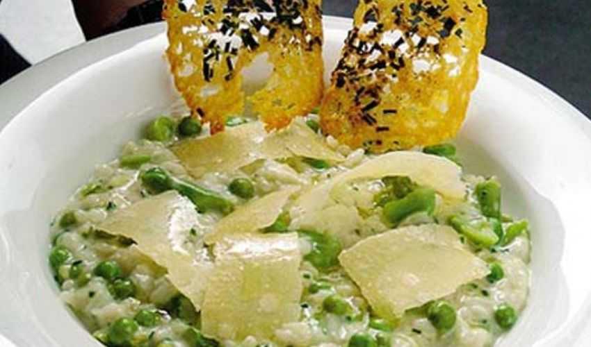 Risotto alle verdure primaverili: ricetta dello chef Ramsay