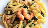 Pasta zucchine, gamberetti e zafferano: ricetta facile e veloce