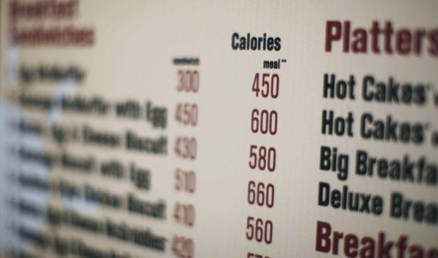 Calorie sul menu del ristorante dal 2022, contro obesità e sovrappeso