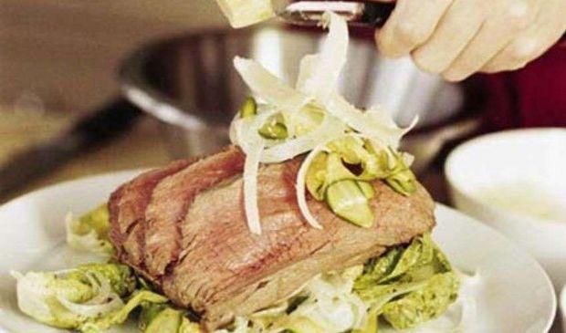 Filetto di manzo: cricetta con finocchio e rosmarino di Ramsay