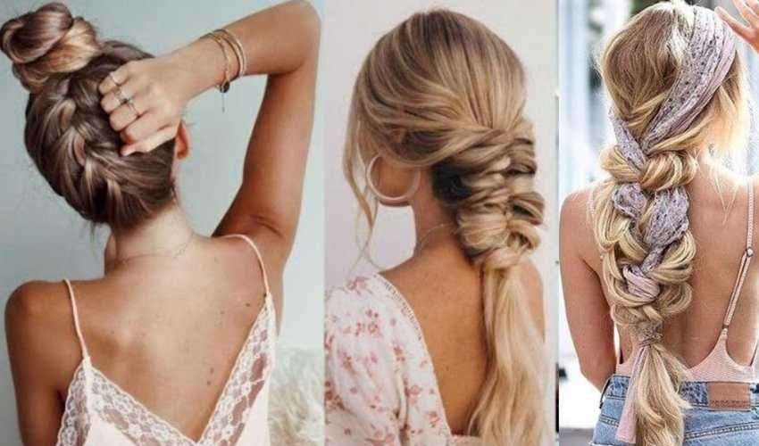 Ben noto Acconciature capelli estate 2020: trecce, piercing e fasce, foulard HB57