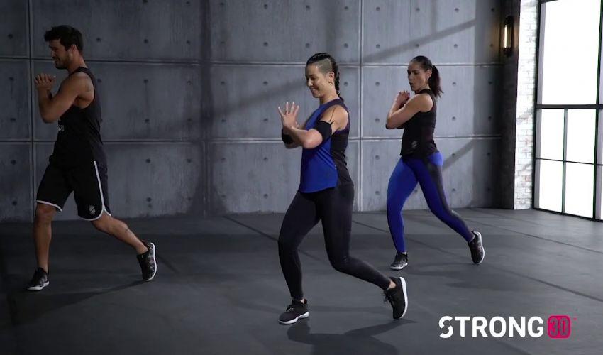Strong Nation, l'allenamento per bruciare calorie a ritmo di musica