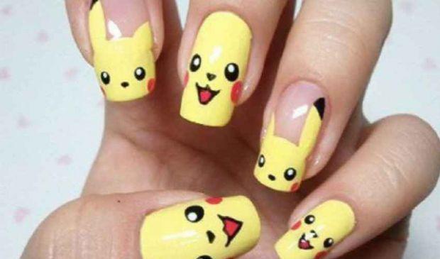 Pokemon Unghie: moda nail art e manicure Pikachu, come si fa
