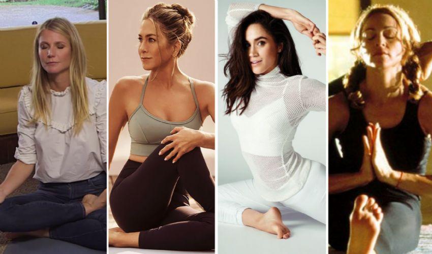 Tutte le star che amano lo yoga: da Gwyneth Paltrow a Madonna