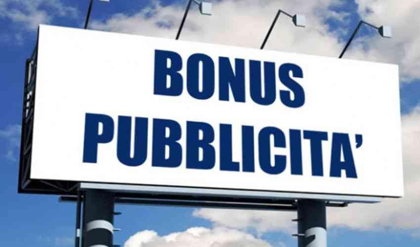 Bonus pubblicità: cos'è e come funziona, le domande sono chiuse!