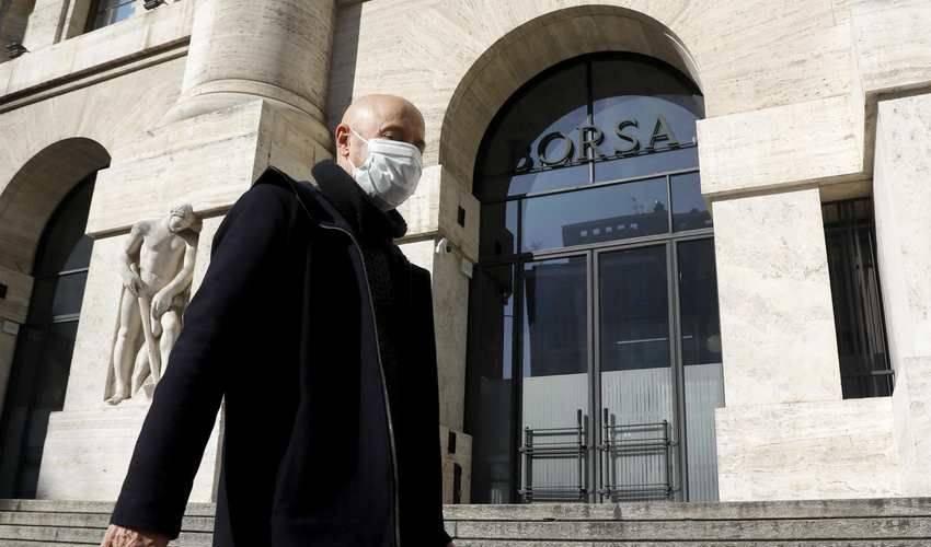 Borse europee sotto pressione. Si teme nuovo lockdown causa contagi