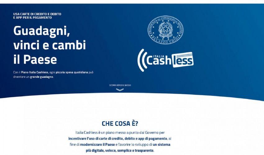 Cashless Italia: sito che spiega cos'è come funziona il bonus cashback