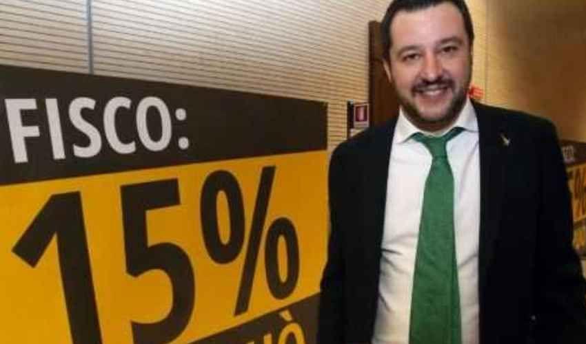 Flat tax Salvini 2018 in Italia? La proposta di imposta unica al 15%