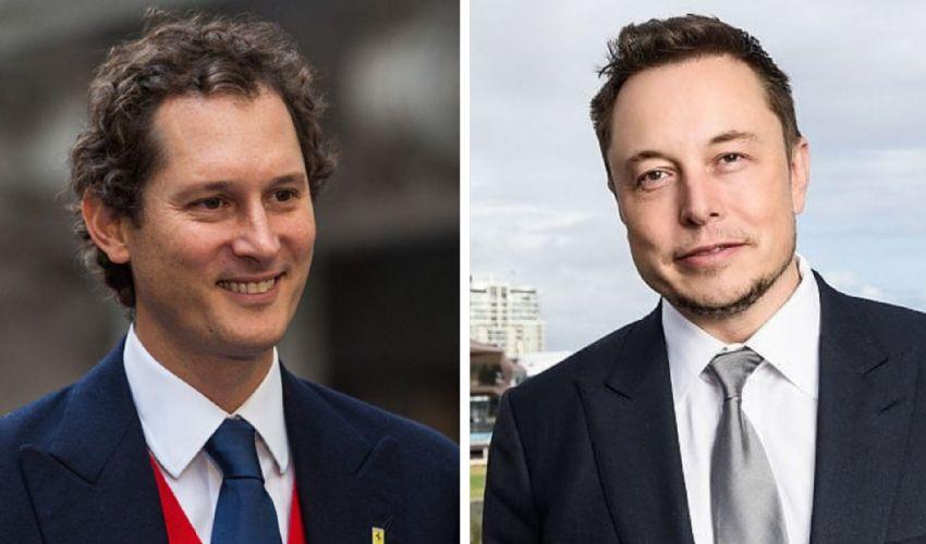 Musk e Elkann a Italian Tech Week 2021 per parlare di auto del futuro