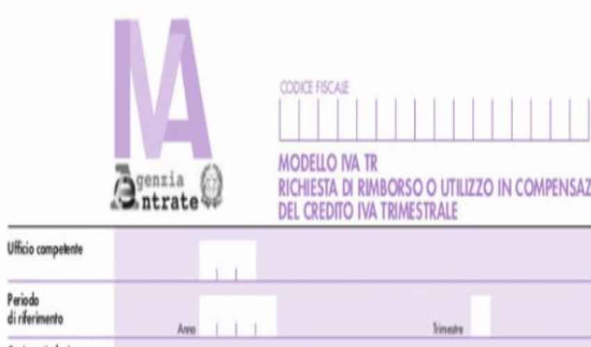 Modello TR IVA 2019 Agenzia Entrate: scadenza e domanda rimborso