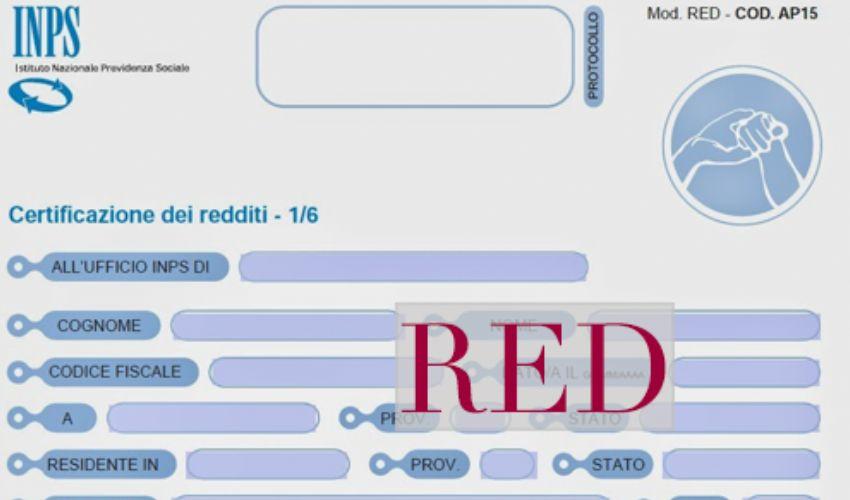 Modello RED 2021: scadenza 1° marzo, cos'è, chi deve inviarlo all'Inps