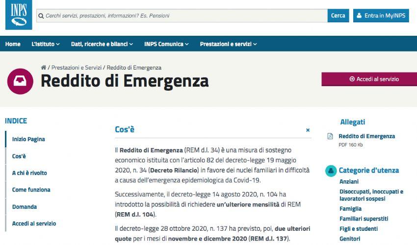 Reddito di emergenza 2021 Inps: automatico o a domanda? Ultime notizie