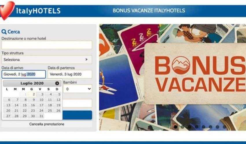 Strutture bonus vacanze 2020: elenco Federalberghi, codice tributo F24