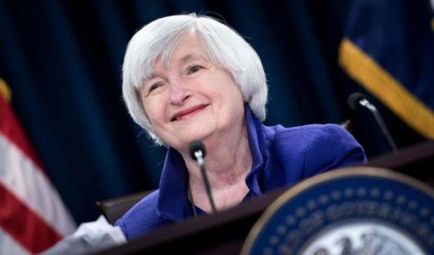 USA: segretario Tesoro Yellen evoca rialzo dei tassi. Giù Wall Street