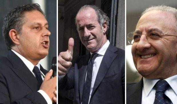 Il voto premia i governatori uscenti. Sale Zingaretti, stabile Di Maio