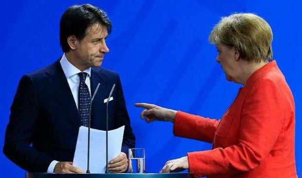 Ma perché Conte risponde piccato alle aperture di Angela Merkel?
