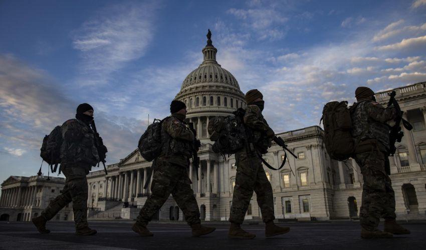 Inauguration Day, 25mila uomini per sicurezza. Parata star per Biden