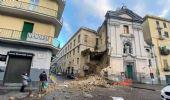Napoli, crolla facciata chiesa del Rosariello: non ci sono feriti