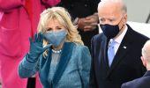 Inauguration Day, il vestito azzurro di Jill Biden e blu di Kamala