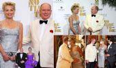 Red carpet di 007, Alberto di Monaco e Sharon Stone di nuovo insieme