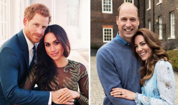 """4,45 mln di sterline per le """"attività"""" di Harry-Meghan e William-Kate"""