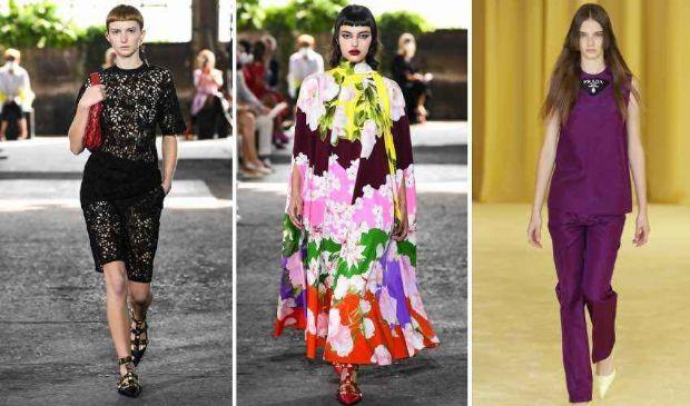 La grande moda ai tempi del Covid punta tutto sui colori e i fiori
