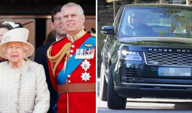 """Il principe Andrea è """"scappato"""" da Royal Lodge con Sarah Ferguson"""