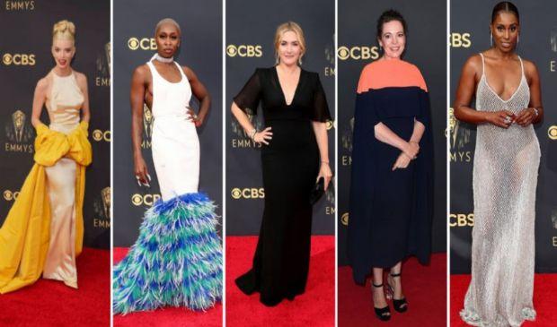 Red carpet Emmy Awards 2021, i look più belli delle star della tv