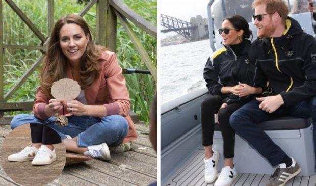 Le scarpe green di Kate Middleton e l'outfit casual da copiare subito