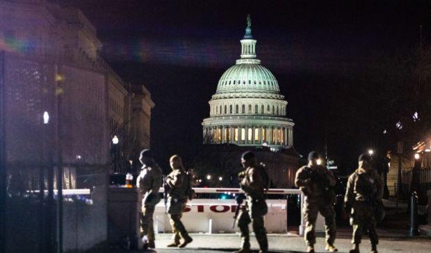 Usa, Inauguration day: arrestato un uomo a un posto di blocco