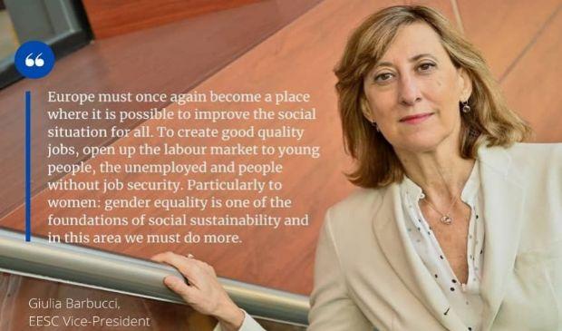 Intervista a Giulia Barbucci, neo vicepresidente del CESE Ue