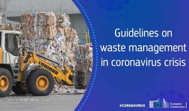"Le ""corsie verdi"" per i rifiuti in Ue durante l'emergenza covid-19"