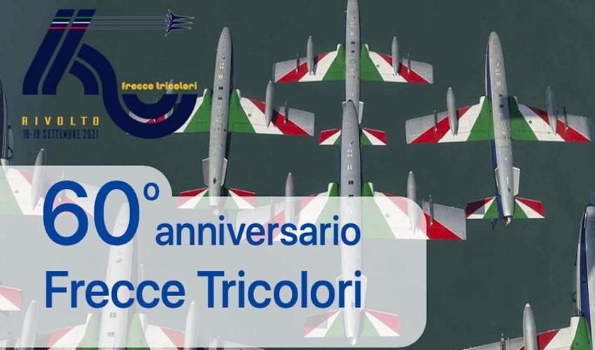 60 anni di Frecce Tricolori: al via celebrazioni alla base di Rivolto