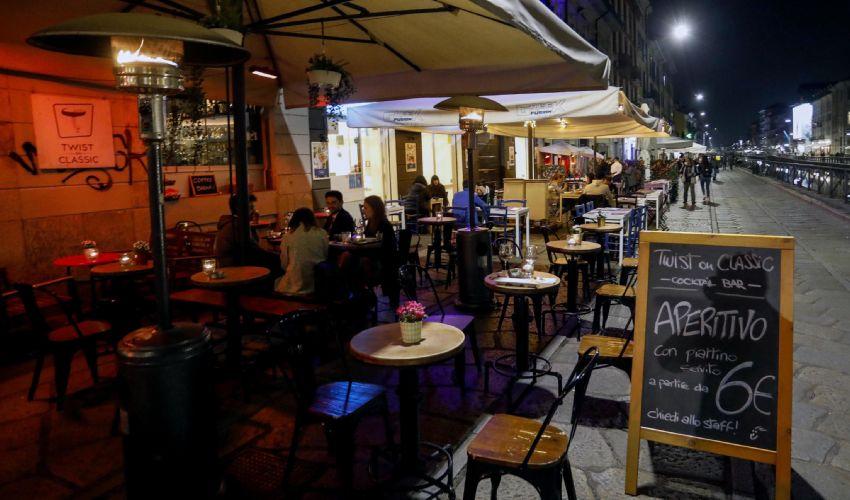 Nuovo DPCM, ristoranti e bar chiusi da oggi alle 18 e domenica aperti