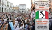 Oggi in piazza il movimento #IoApro contro il Green Pass. Chi protesta