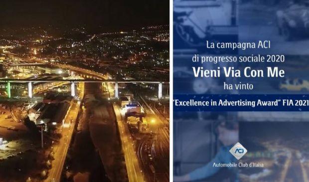 La campagna sociale Aci vince 2 premi internazionali di comunicazione