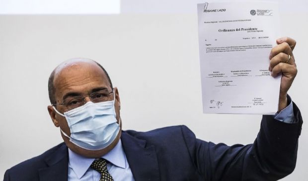 Ordinanza mascherine Regione Lazio: testo pdf, obbligo e multe 400€