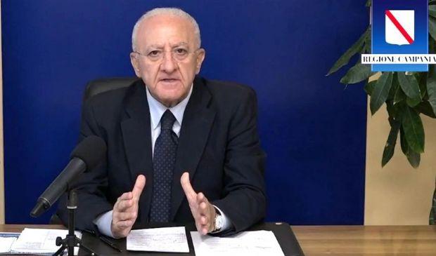 Covid Campania: confermata didattica a distanza e coprifuoco alle 23