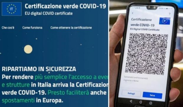 Green pass sanzioni e durata: multe fino a 1000 euro e validità 9 mesi