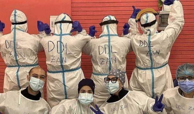 Omotransfobia: vip, mondo social e infermieri a sostegno del Ddl Zan
