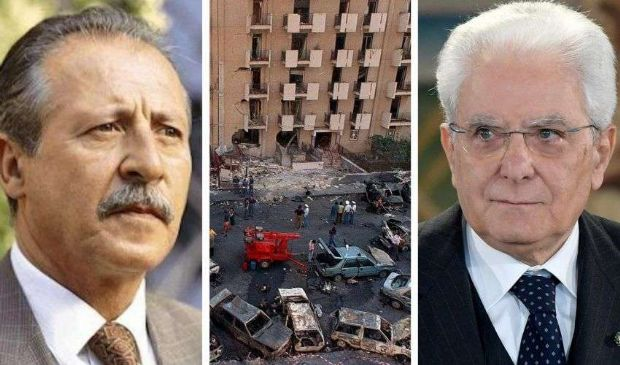 """Strage via D'Amelio, Mattarella: """"Spezzare connivenze e criminalità"""""""