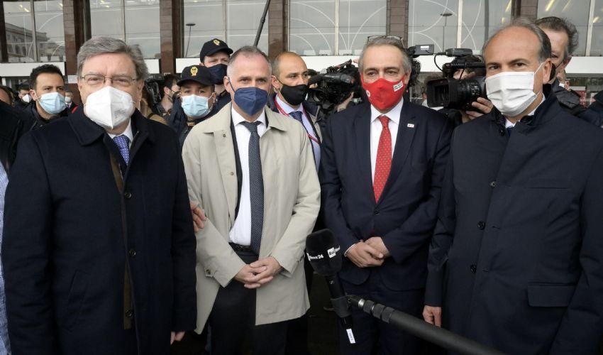 """Primo treno covid-free FS, Battisti: """"Siamo i primi in Europa"""""""