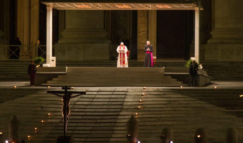 Venerdì Santo 2021, dove vedere la Via Crucis di Papa Francesco