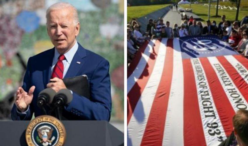 """11 settembre, il messaggio di Biden: """"Noi uniti contro la paura"""""""