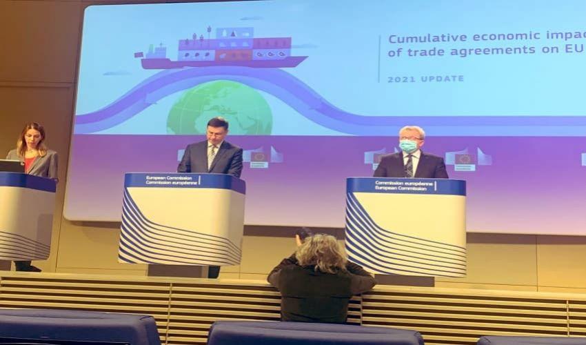 Ue, cresce export agroalimentare: accordi commerciali ed effetti 2030