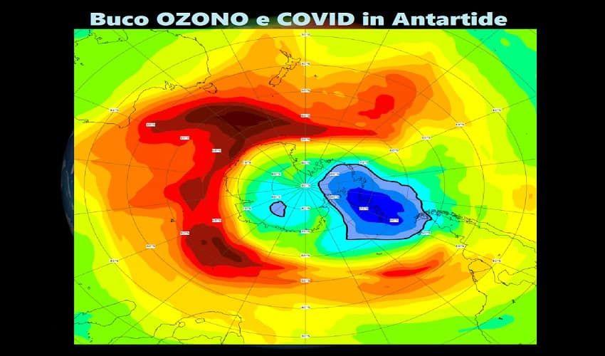 Chiuso buco dell'ozono da record dell'Antartide, sorpresa di fine anno