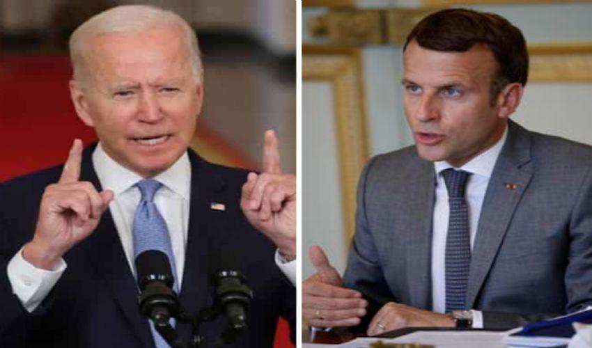 Il caso Aukus: primo colloquio Biden-Macron (ma non finisce qui)